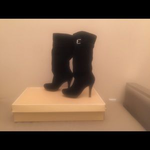 Michael Kors Black Kincade Knee Boot